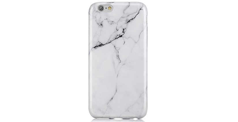 White Marble Case For iPhone 6