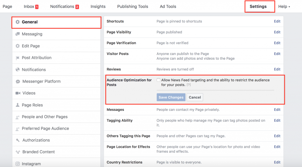 Optimise Organic FB post reach