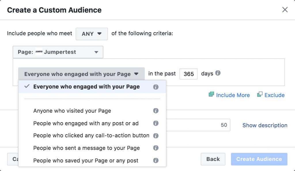 Facebook remarketing ads