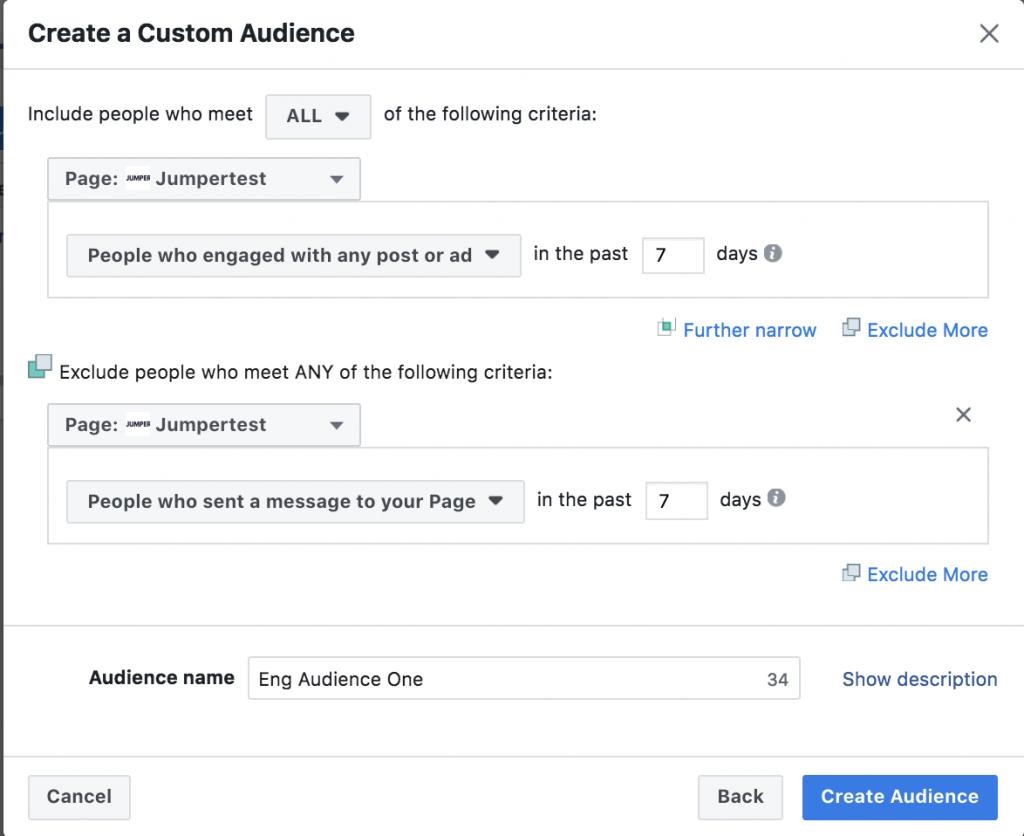 Facebook ad remarketing