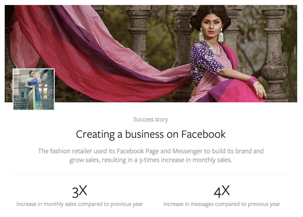Hur Nusrat using Engagement ads on Facebook