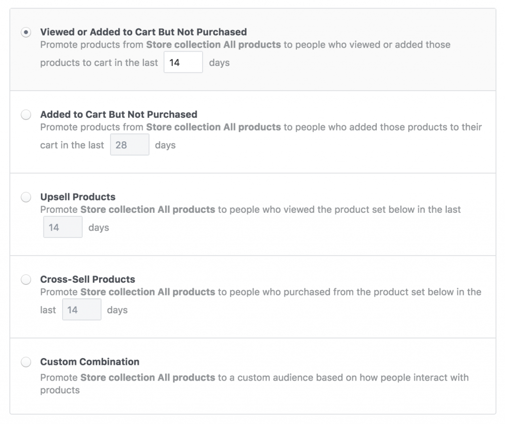 Defining what a conversion is in Facebook ads