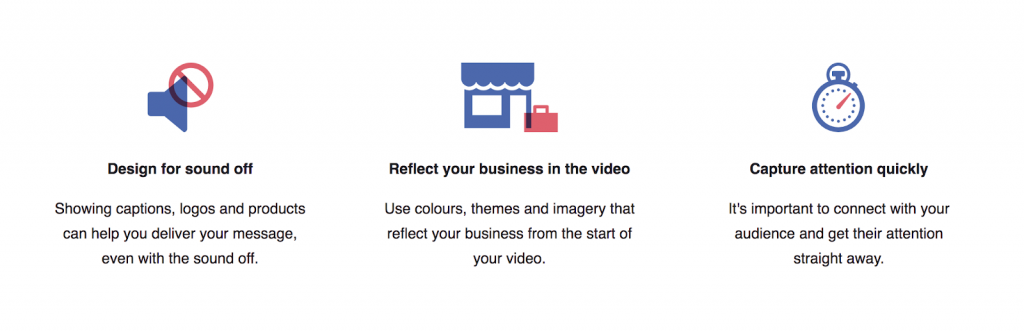 Best practices for videos in Facebook ads