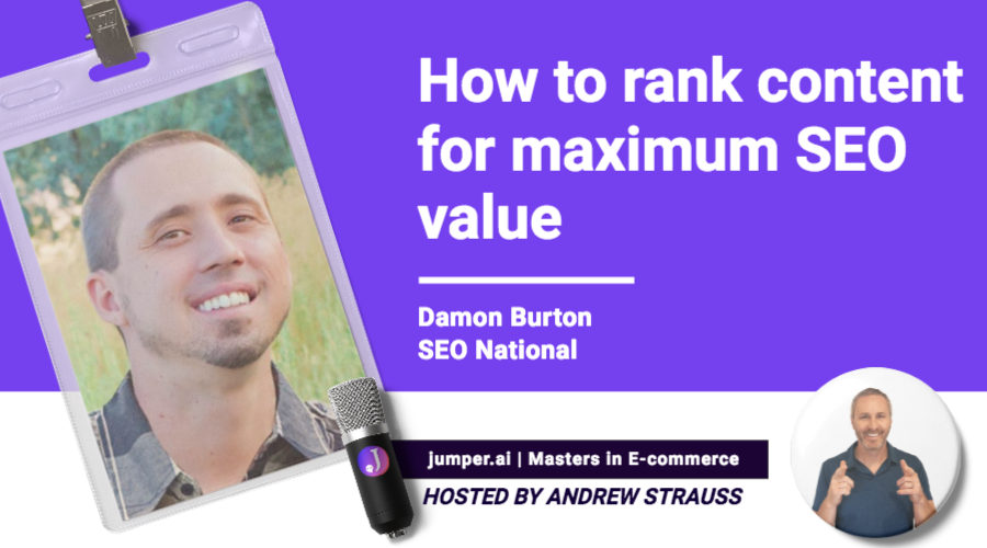 VidCast #8 : SEO National's Damon Burton on How to Rank Content for Maximum SEO Value