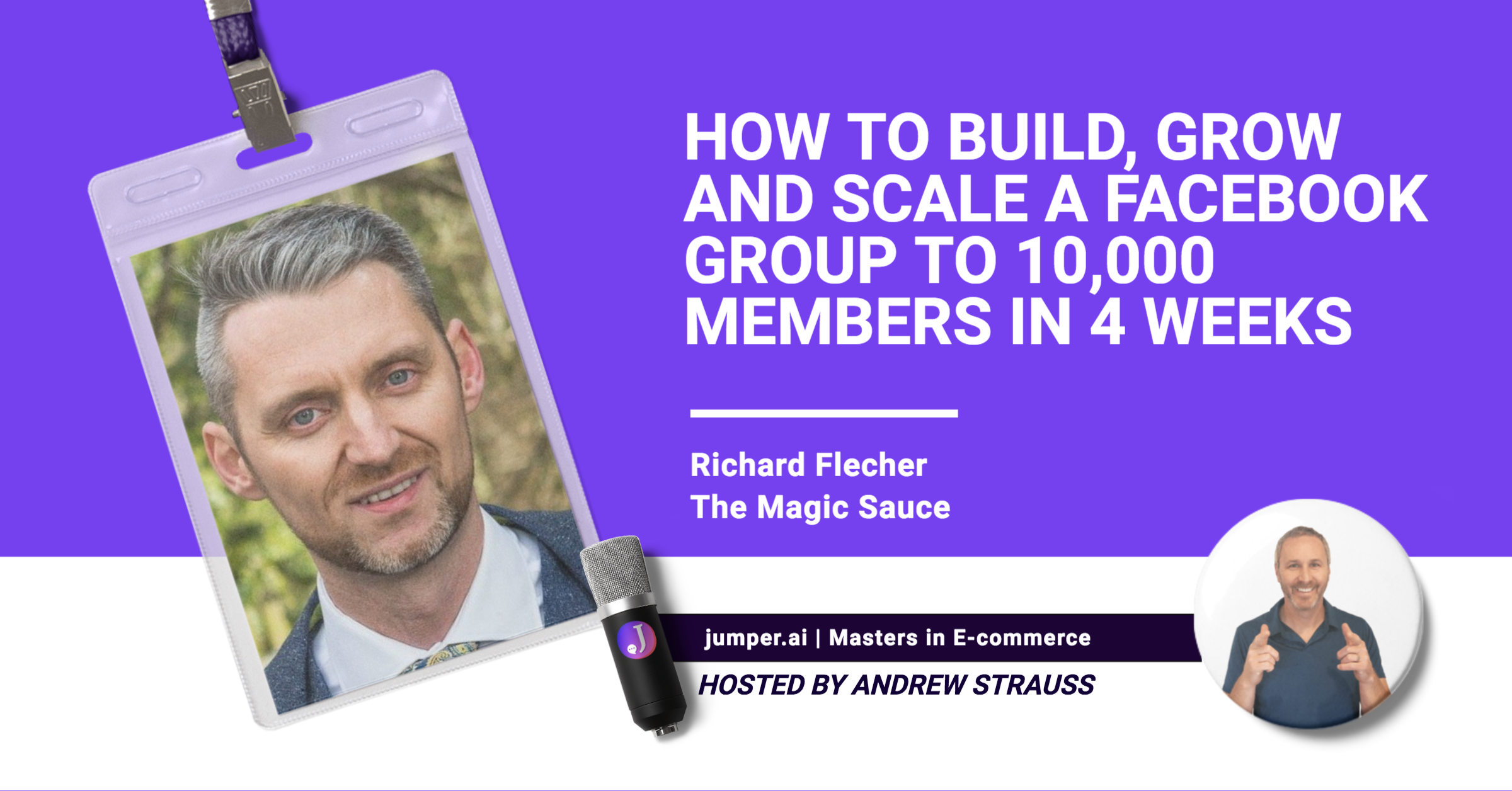 Vidcast # 4:  From dating life coach to Facebook group building master