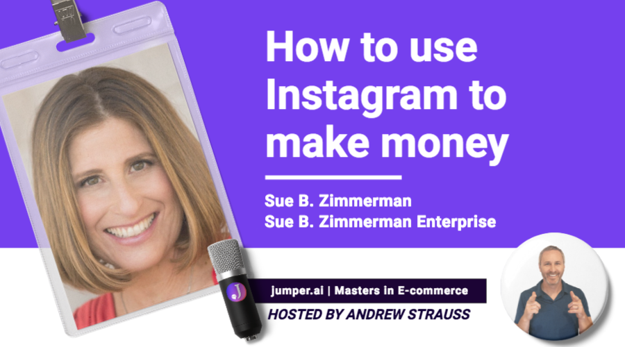 VidCast #9 : Sue B. Zimmerman on how to make money with Instagram