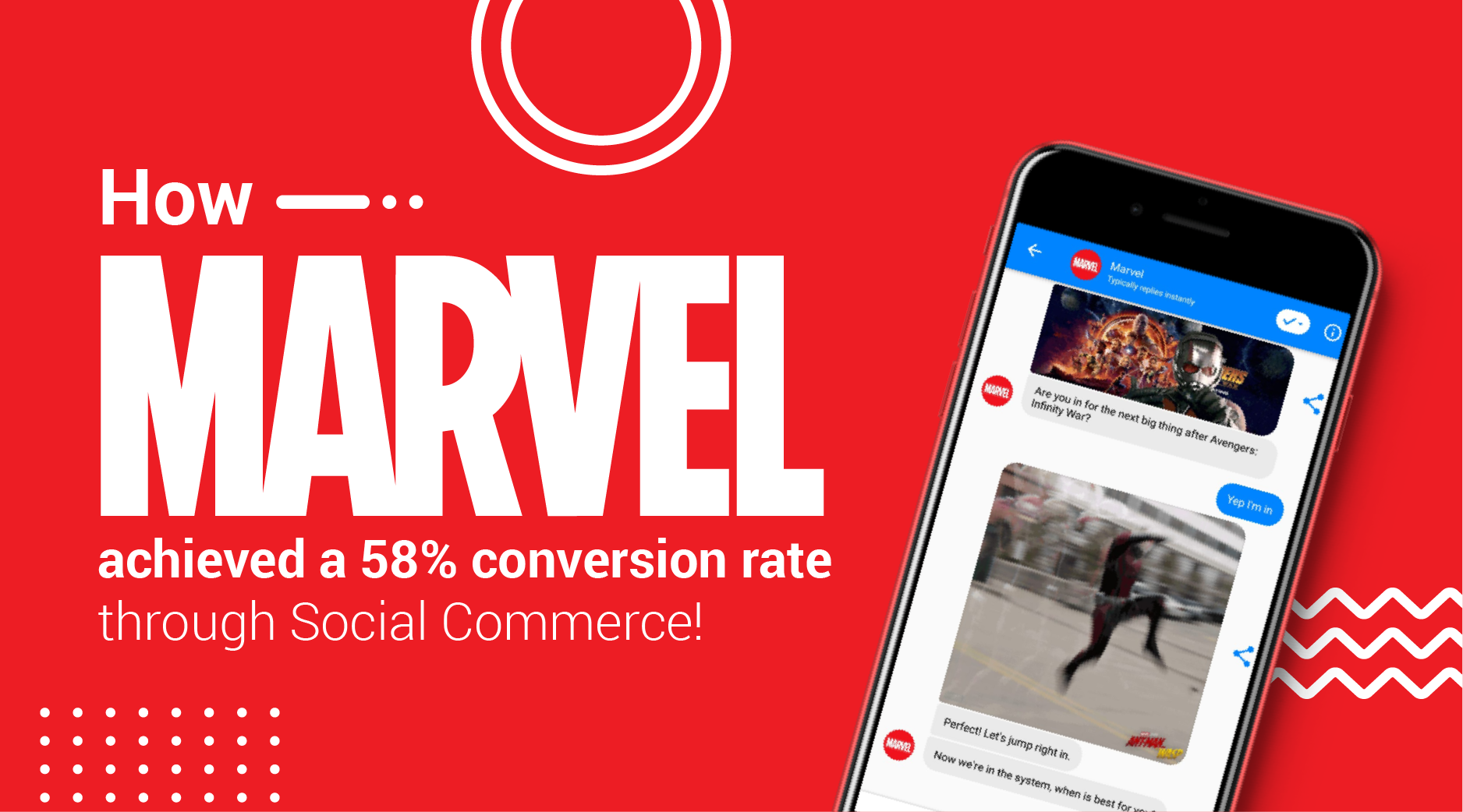 How Marvel's Social Commerce Strategy Achieved a 58% Conversion Rate