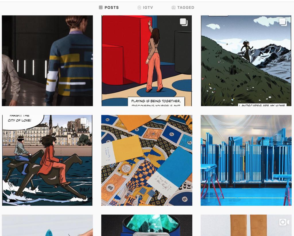 Instagram social commerce example