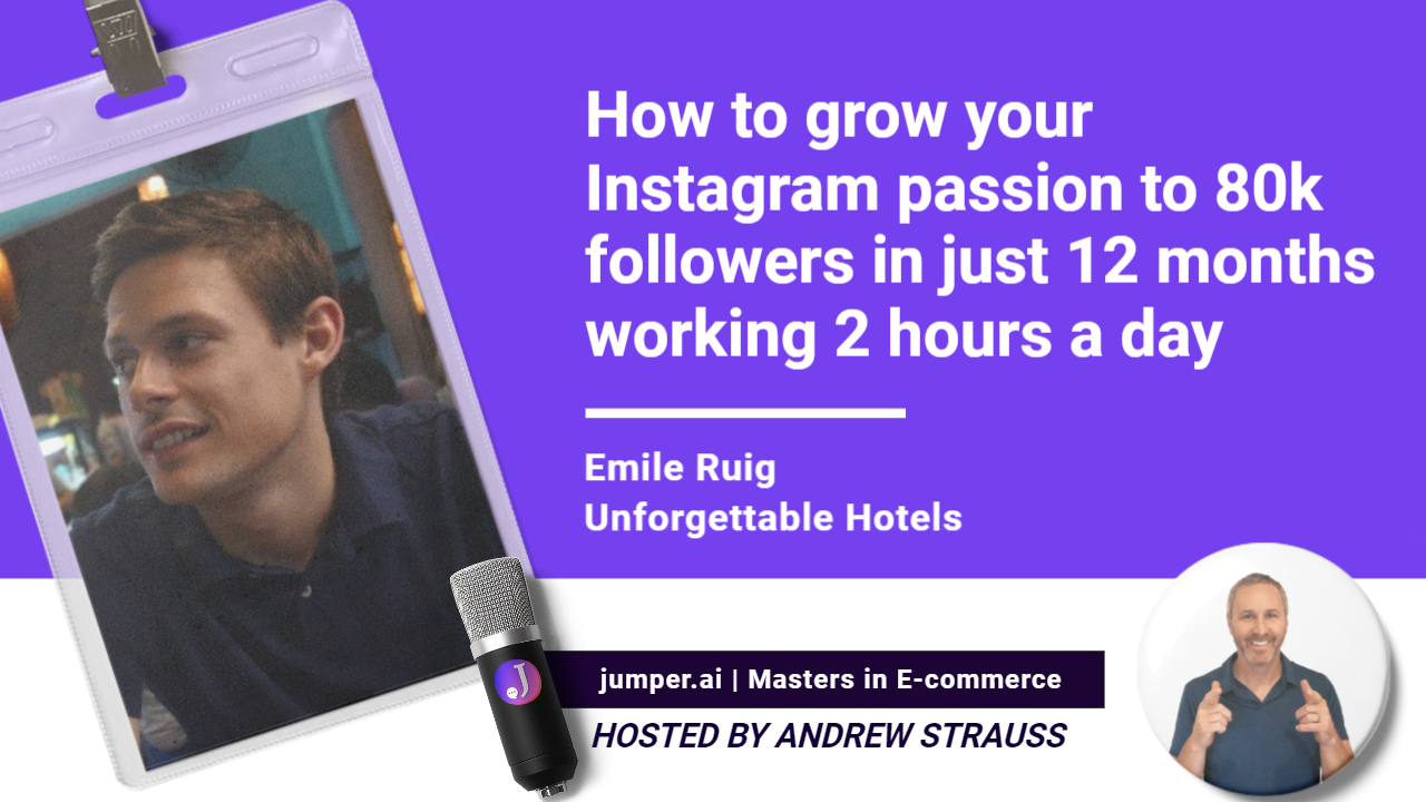 Vidcast #18 : How to grow your followers to 84k on Instagram