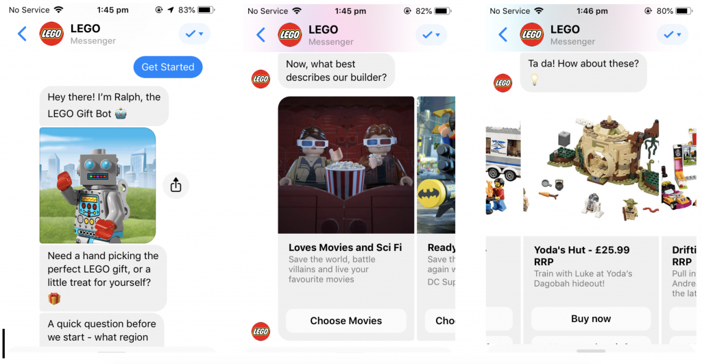 Ecommerce Chatbots: Five Examples That Increase Sales and