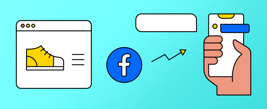 Facebook advertising for conversational commerce