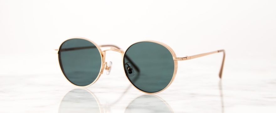 Buy Gold Rimmed Sunglasses
